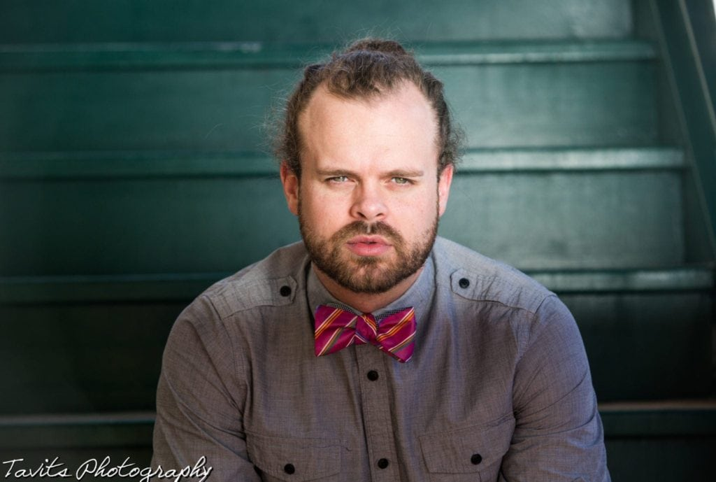 Professional Headshots Male Bowtie