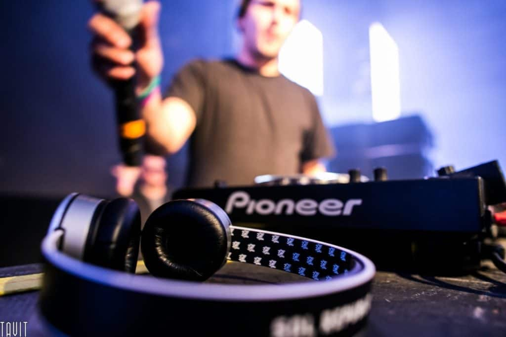 Concert Photography Pioneer Headphones