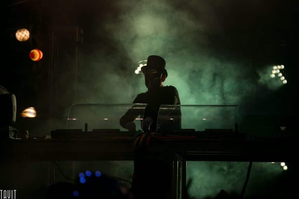 Concert Photographer Dark DJ
