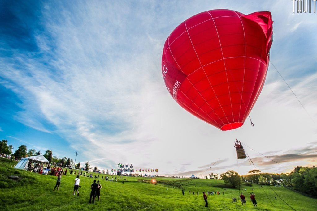 Mysteryland 2014 | Music Festival Photography Hot Air Balloon