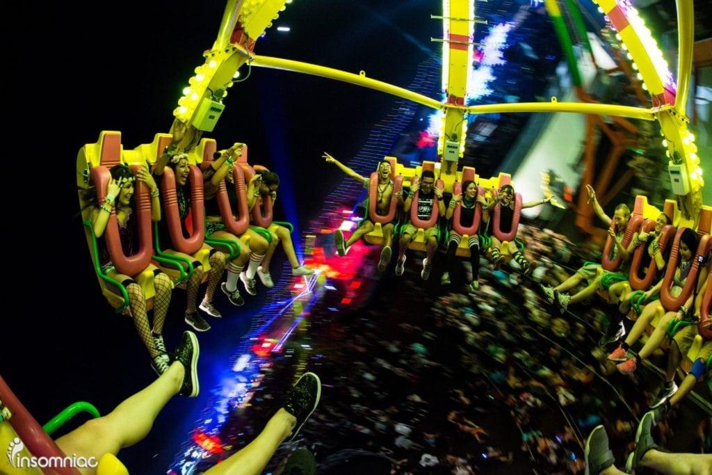 EDC Las Vegas 2014 Roller Coaster Ride
